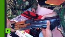 Syrie : des rebelles rendent les armes par centaines près de Damas