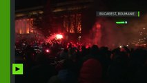 Roumanie : les plus importantes manifestations depuis la chute du communisme en 1989