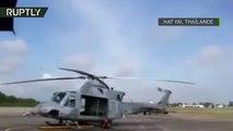 Thaïlande : un jet s'écrase pendant un show aérien destiné aux enfants