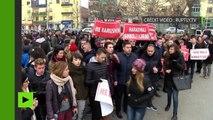 Des Albanais manifestent pour soutenir l'ex-Premier ministre du Kosovo