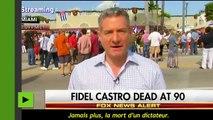 Les US et les grands médias, une danse sur la tombe de Castro ?