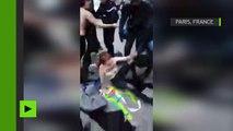Action des Femen devant le Palais de justice en solidarité avec Jacqueline Sauvage