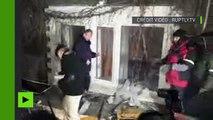 Kiev : Des nationalistes vandalisent le bureau de l'organisation pro-russe «Choix de l'Ukraine»