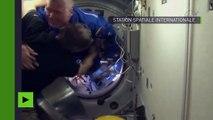 Trois nouveaux astronautes, dont un Français, sont entrés dans l'ISS
