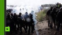 Calais : trois CRS blessés dans les heurts qui ont marqué la manifestation pro-migrants interdite