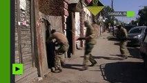Russie : serments d'allégeance à Daesh, kalachnikovs et explosifs trouvés lors d'une arrestation