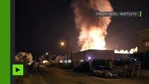 Quatrième nuit consécutive de violences à Val-d'Oise : des bâtiments et des voitures incendiés