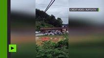 Inondation en Virginie : le bilan grimpe à 23 morts, les services d'urgence s'organisent