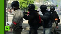 La manifestation contre la Loi Travail loin d'être calme à Nantes