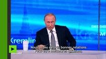 La vie privée de Vladimir Poutine pourrait affecter le prix du pétrole