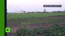 Des missiles tirés vers le Haut-Karabagh par l'armée azerbaïdjanaise