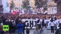 Plusieurs milliers de Corses défilent à Bastia dans une manifestation sous tension