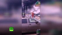 Une voiture piégée a explosé près d'un poste de police au Daguestan, en Russie