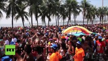 Malgré le virus Zika, le Carnaval de Rio bat son plein