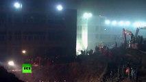 Chine : coincé 67 heures sous les débris, un jeune homme est retrouvé sain et sauf