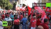 Brésil : une manifestation haute en couleurs pour la destitution de la présidente Dilma Rousseff