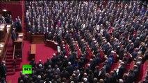 La Marseillaise au Congrès à Versailles