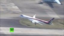 Vol d'essai réussi du premier avion civil japonais