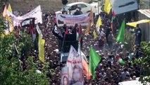 Des milliers de manifestants rendent hommage à cinq adolescents tués par l'armée isrélienne