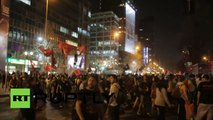 Heurts avec la police lors d'une manifestation au Chili