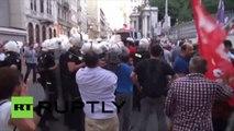 Turquie : la police utilise des canons à eau lors de la manifestation pour la journée de la paix