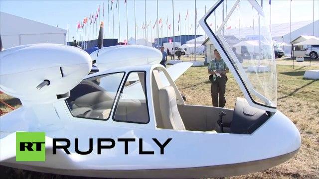 Un drone de «canard» unique en son genre, présenté au salon aérospatial MAKS-2015