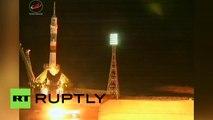 Un vaisseau Soyouz amène un équipage à l'ISS pour la première fois depuis plusieurs échecs