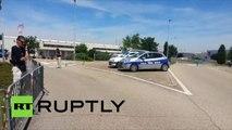 Saint-Quentin-Fallavier après l'attaque islamiste