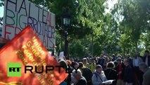 Nouvelle vague de manifestations à Paris contre la loi sur le renseignement