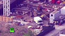 Un obus non-explosé datant de la Seconde Guerre mondiale découvert à Londres