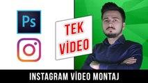 #TekVideo Instagram Montajı Nasıl Yapılır? - Video Montajı Nasıl Yapılır? - Montaj Eğitim Videosu