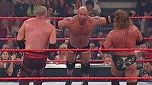 Goldberg vs  Triple H vs  Kane - World Heavyweight Championship Match - WWE Armageddon 2003