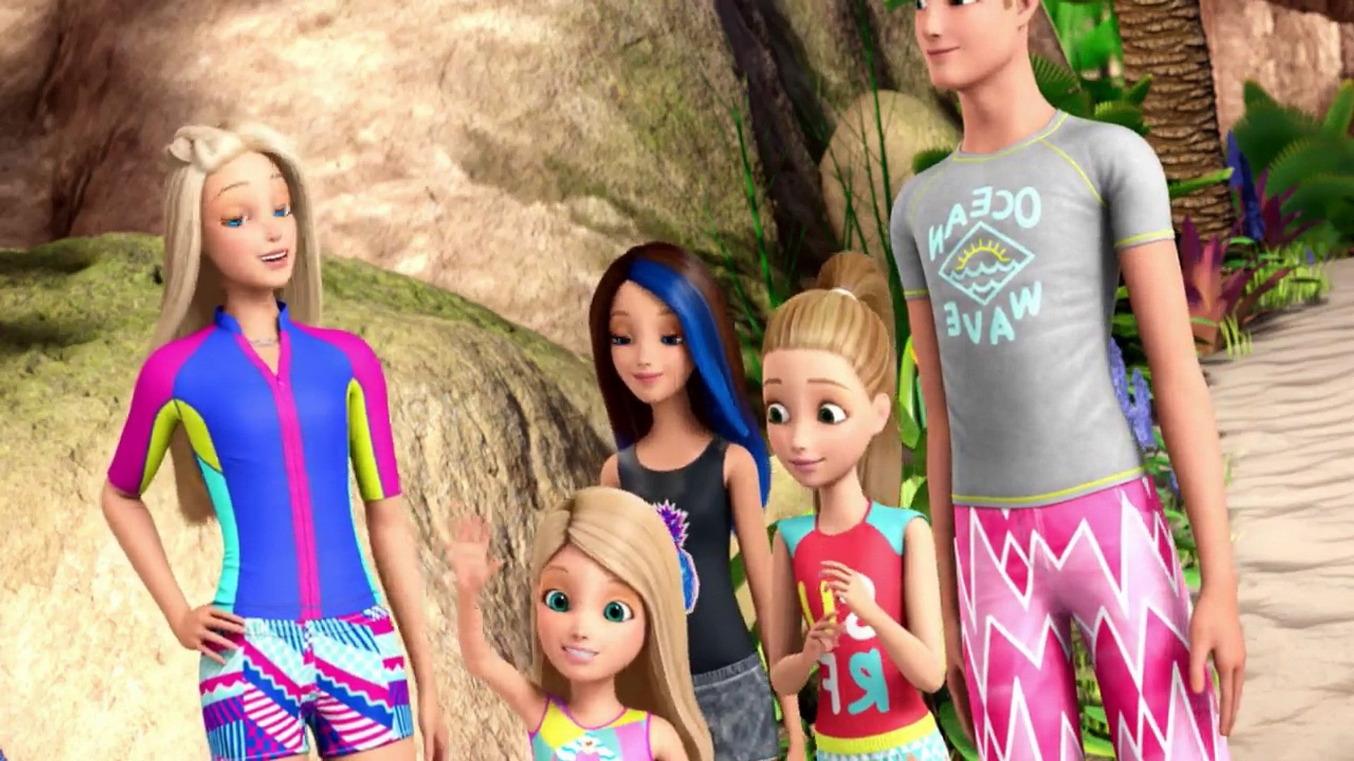 Barbie Dolphin Magic Full Movie For Kids Part-3 | Kids Mania