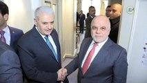 - Başbakan Yıldırım, Iraklı mevkidaşı el-İbadi ile bir araya geldi