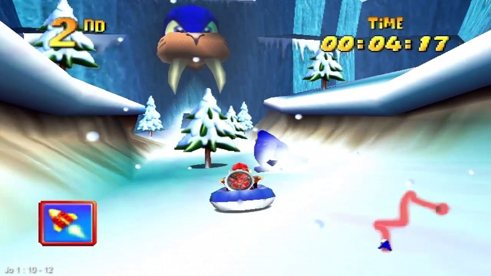 Diddy Kong Racing - #21 [Bluey the Walrus Revenge] Demorou mas ganhei