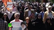 Iran : des manifestations dénoncent les frappes aériennes saoudiennes au Yémen
