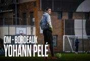 Replay   La conférence de presse de Yohann Pelé avant OM - Bordeaux