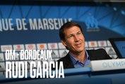 Replay   La conférence de presse de Rudi Garcia avant OM - Bordeaux