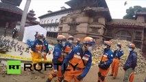 Népal : les images choc des ruines de Katmandou