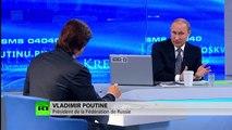 Vladimir Poutine : Il ne faut pas attendre la levée des sanctions