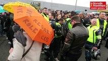 VIDEO. Colère 86 monte en pression et bloque trois stations-service de Poitiers