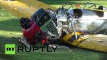 L'acteur Harrison Ford grièvement blessé dans un accident d'avion