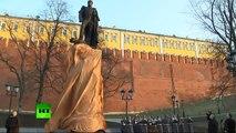 Poutine a inauguré un monument Alexandre Ier sur le territoire du Kremlin