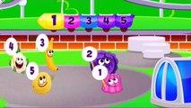 crazy eggs numbers   numbers songs   learn numbers   surprise eggs   nursery rhymes   baby videos