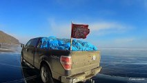Лёд Байкала 2015 Great ice of lake Baikal 2015