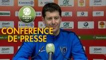 Conférence de presse US Orléans - Paris FC (1-1) : Didier OLLE-NICOLLE (USO) - Fabien MERCADAL (PFC) - 2017/2018
