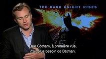 Batman : The Dark Knight Rises - Interview Christopher Nolan - Christian Bale / Christopher Nolan