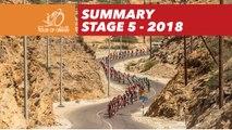 Summary - Stage 5 - Tour of Oman 2018