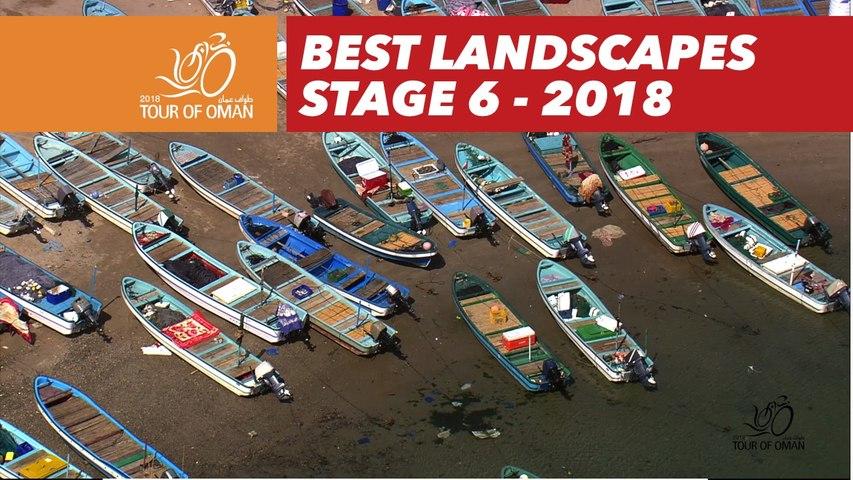 Best landscapes - Stage 6 - Tour of Oman 2018