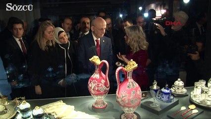Dolmabahçe Sarayı'nın özel salonları ilk kez ziyarete açıldı